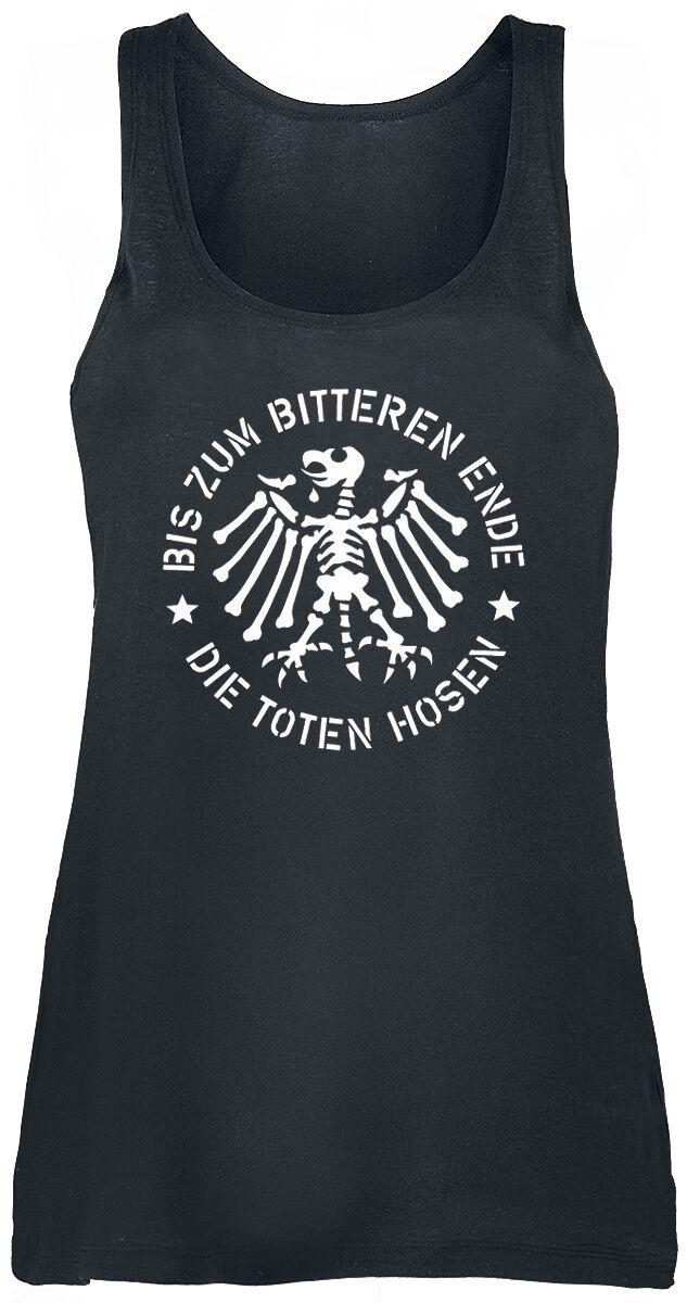 Zespoły - Topy - Top damski Die Toten Hosen Bis zum bitteren Ende Top damski czarny - 366879
