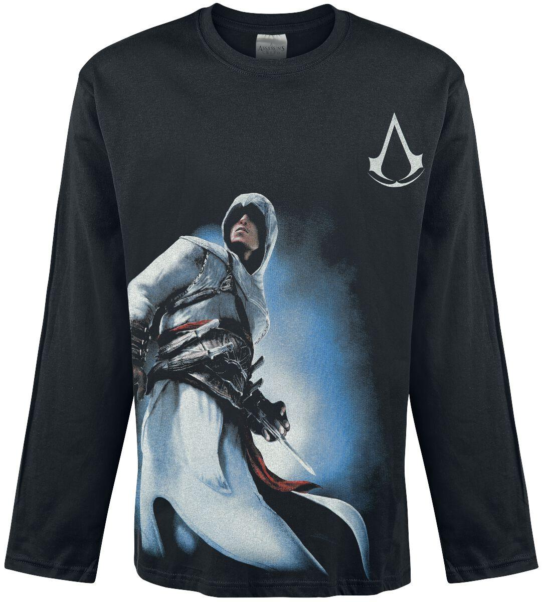 Image of   Assassin's Creed Altair Langærmet sort