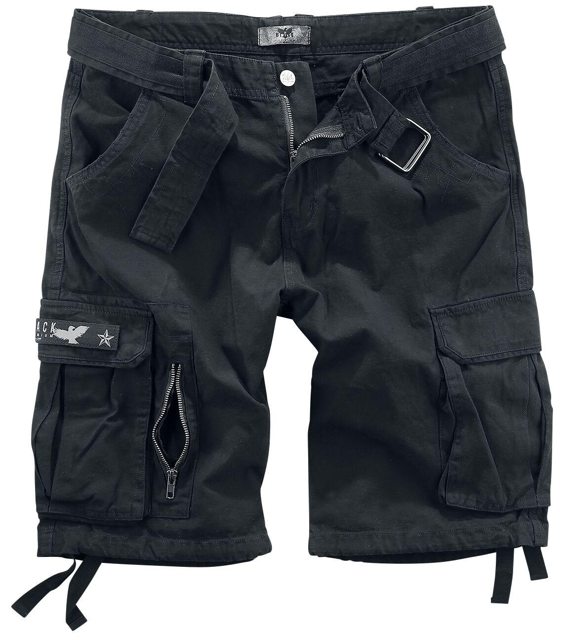 Image of   Black Premium by EMP Army Vintage Shorts Vintage shorts sort