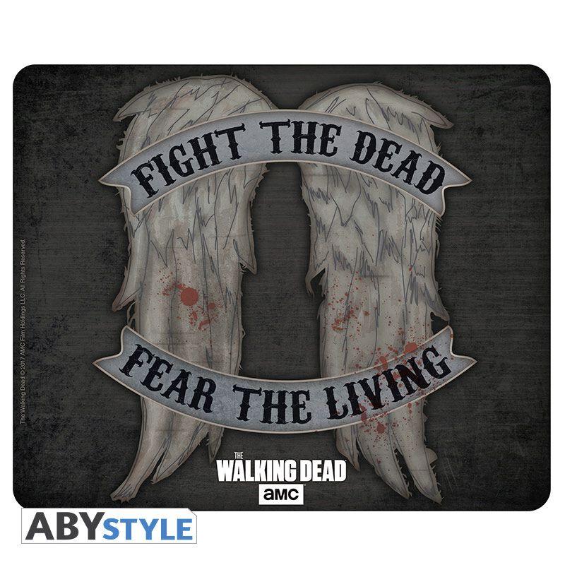 Image of   The Walking Dead Daryl Dixon - Wings Musemåtte multifarvet