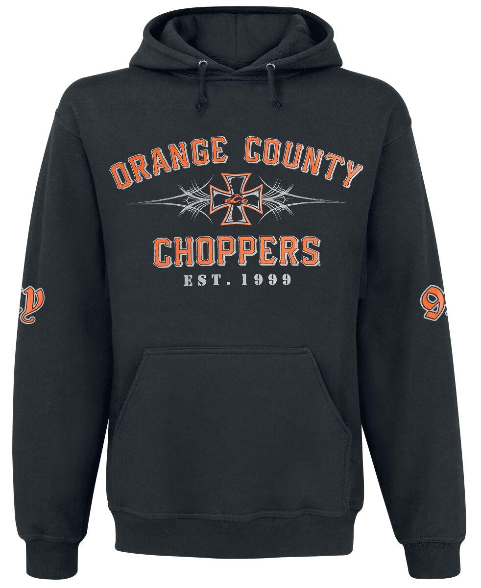 Marki - Bluzy z kapturem - Bluza z kapturem Orange County Choppers OCC 99 Pinstripe Bluza z kapturem czarny - 367200