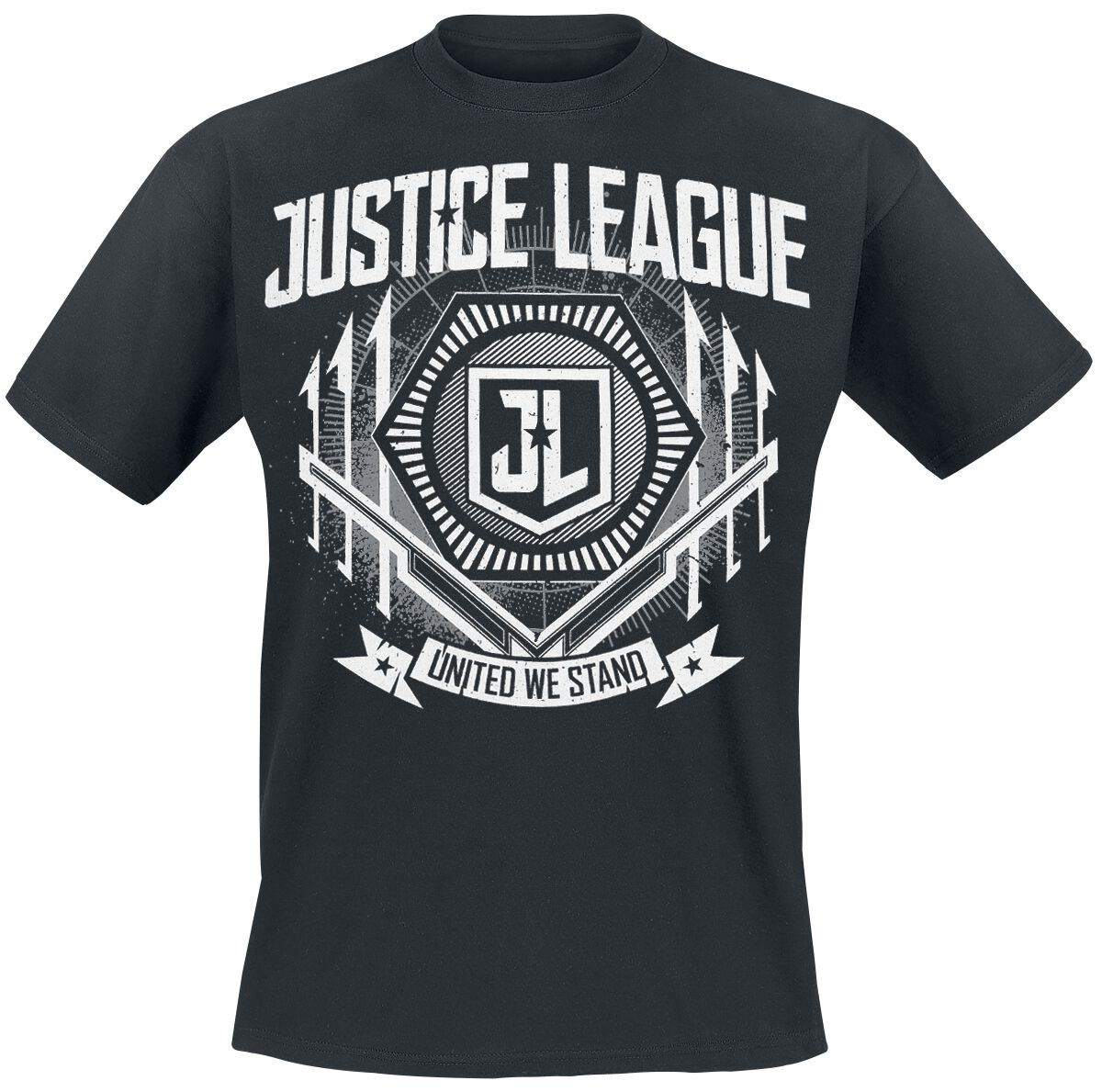 Image of   Justice League United T-Shirt sort