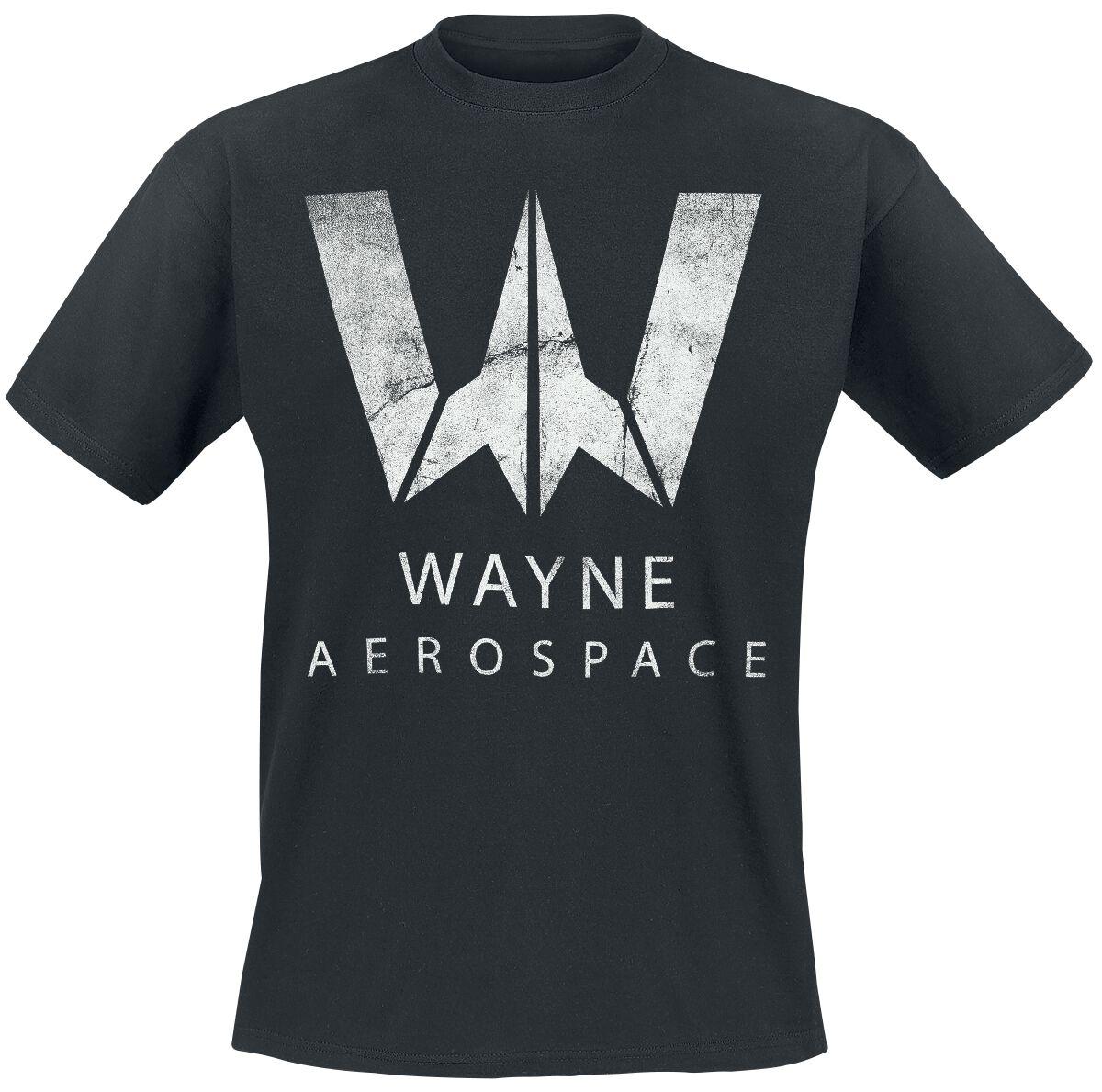 Image of   Justice League Wayne Aerospace T-Shirt sort