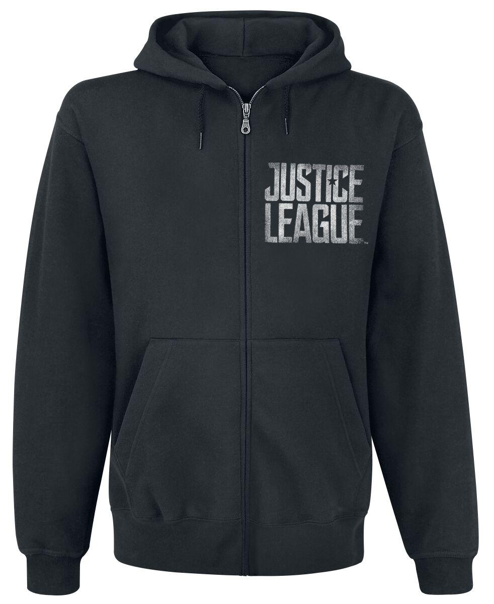 Image of   Justice League Splatter Squad Hættejakke sort
