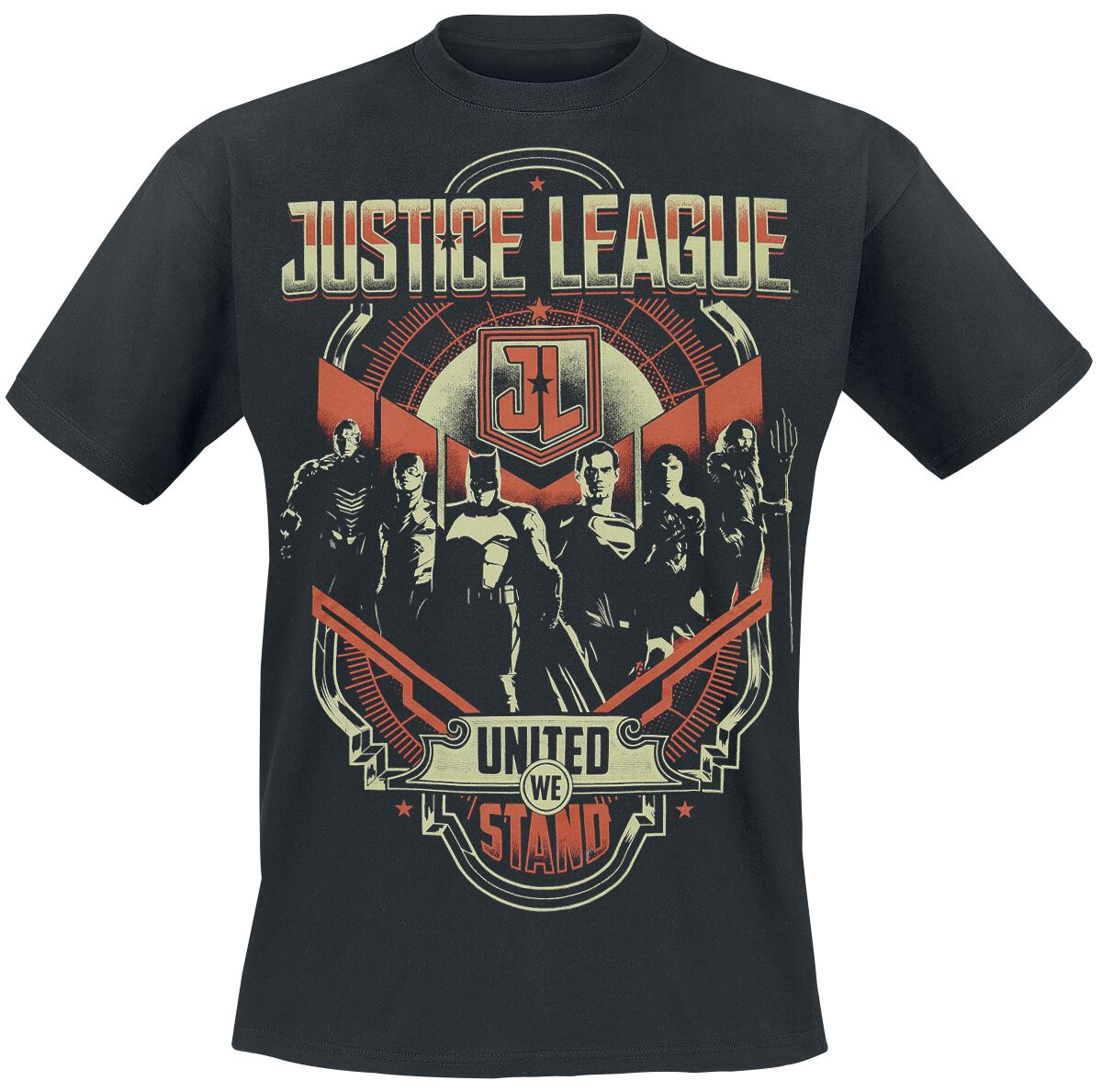 Image of   Justice League United We Stand T-Shirt sort