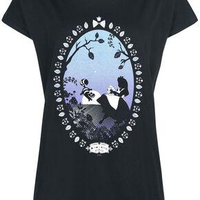 Alice Au Pays Des Merveilles Almost Alice T-shirt Femme noir