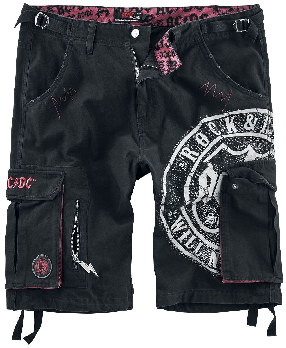 Image of   AC/DC EMP Signature Collection Shorts sort