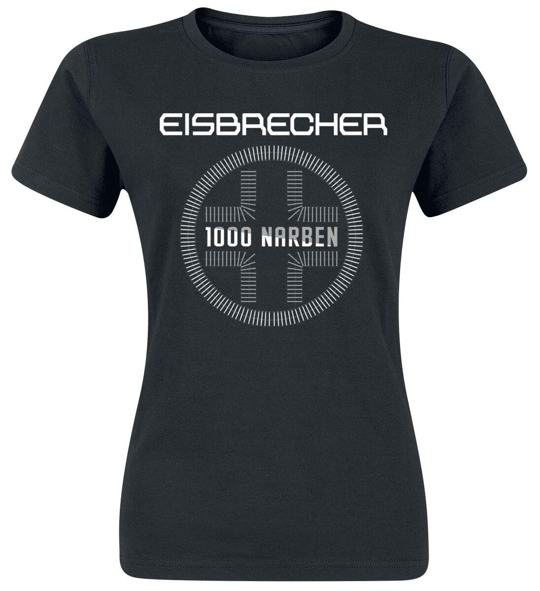 Zespoły - Koszulki - Koszulka damska Eisbrecher 1000 Narben Koszulka damska czarny - 367412