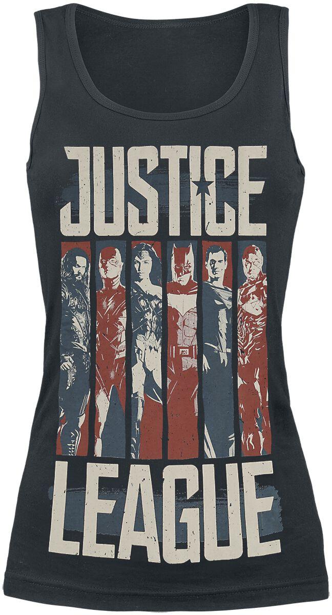 Image of   Justice League Charaktere Girlie top sort