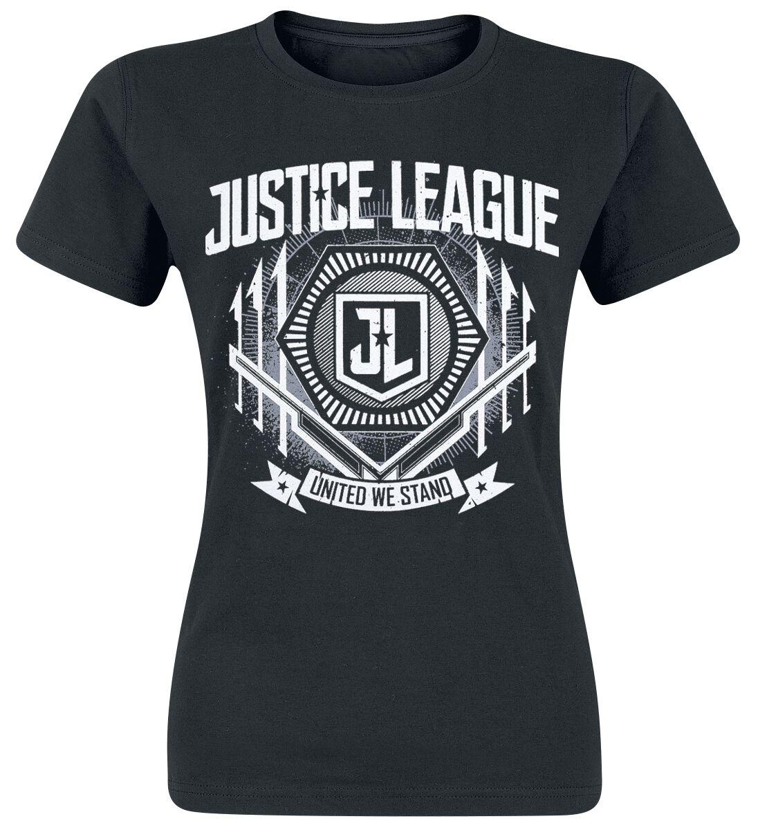 Image of   Justice League United Girlie trøje sort