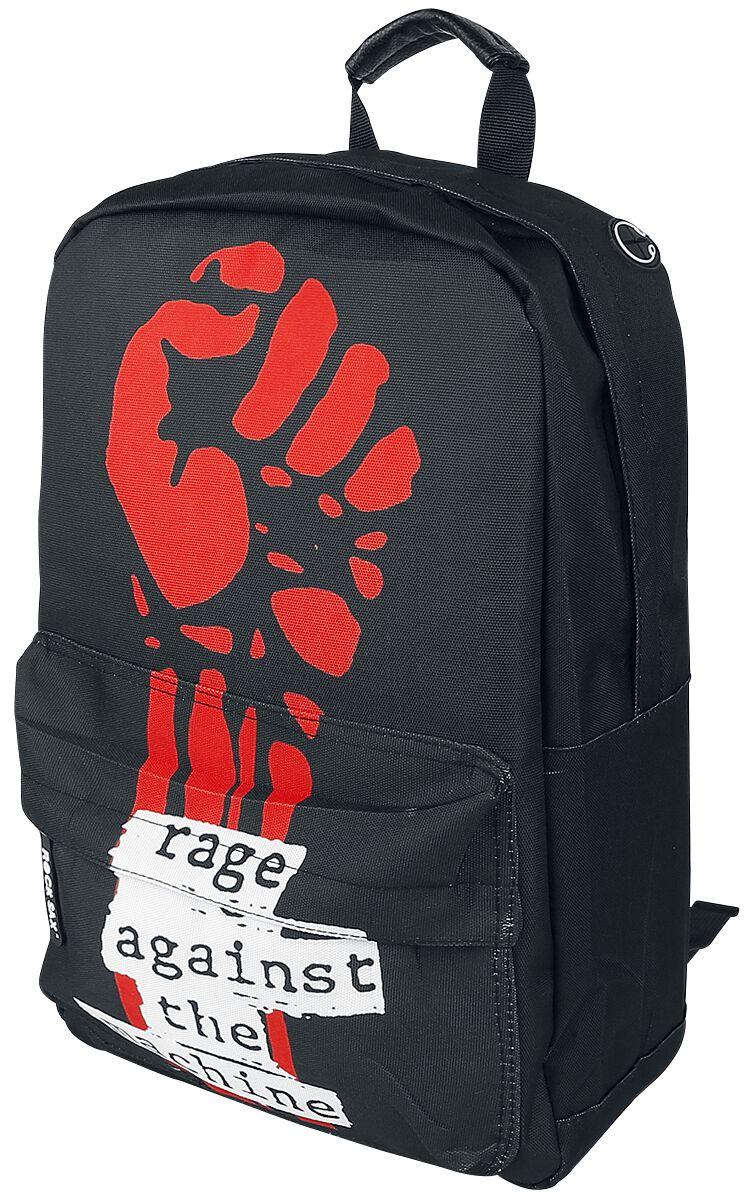 Zespoły - Torby i Plecaki - Plecak Rage Against The Machine Fist Logo Plecak czarny - 367482