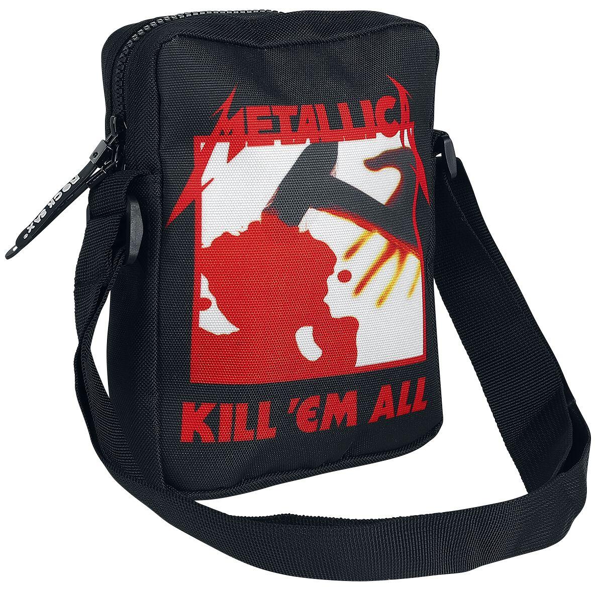 Image of   Metallica Kill 'Em All Skuldertaske sort