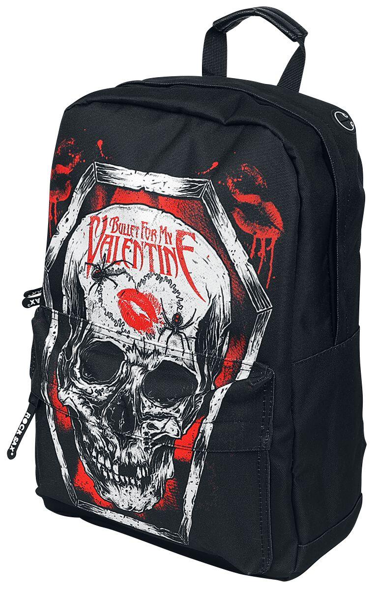 Image of   Bullet For My Valentine Coffin Rygsæk sort
