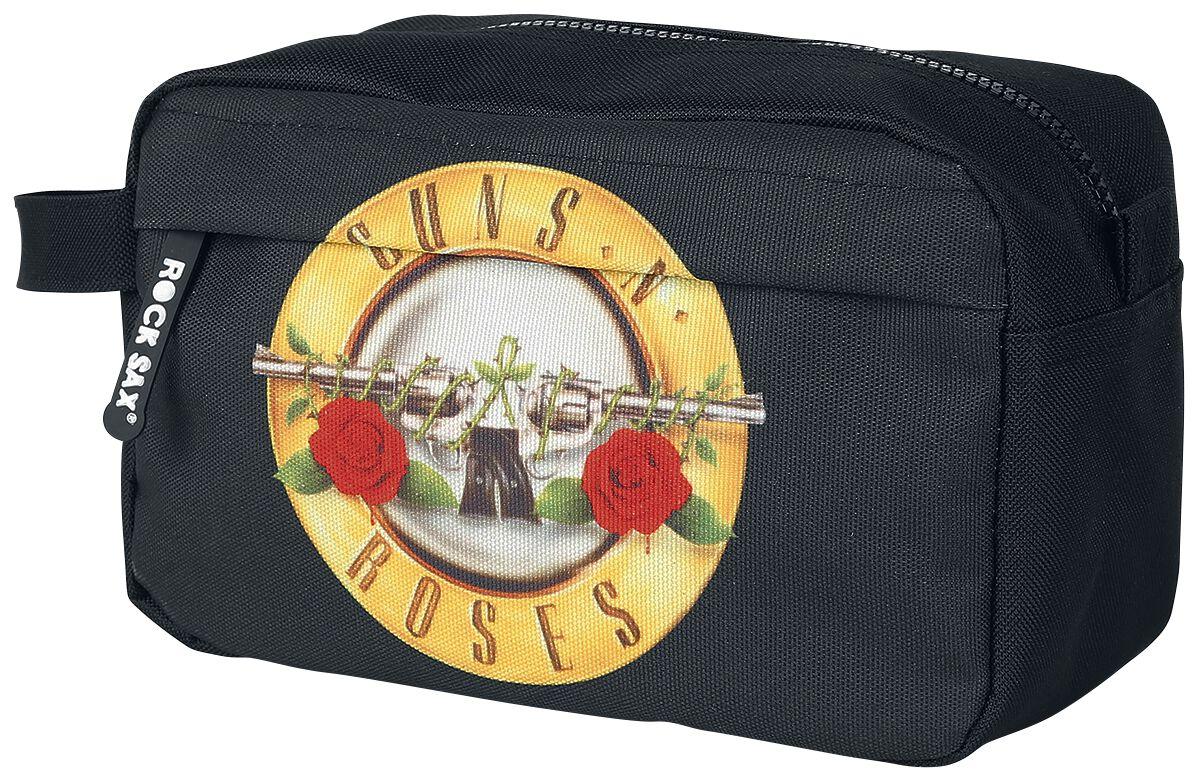 Image of   Guns N' Roses Logo Toilettaske sort