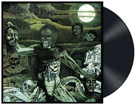 Image of Axegrinder Rise of serpent men LP Standard