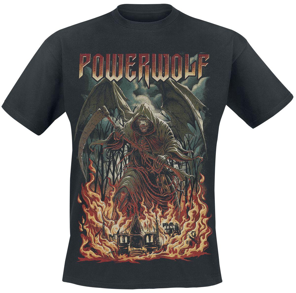 Image of   Powerwolf Armata Strigoi T-Shirt sort