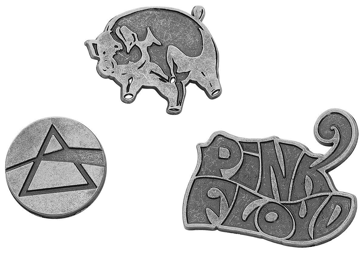 Image of   Pink Floyd EMP Signature Collection Nålesæt sølvfarvet