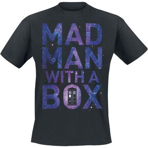 Doctor Who Mad Man With A Box T-shirt noir