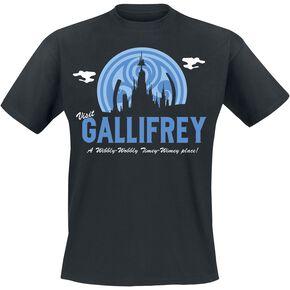 Doctor Who Visit Gallifrey T-shirt noir