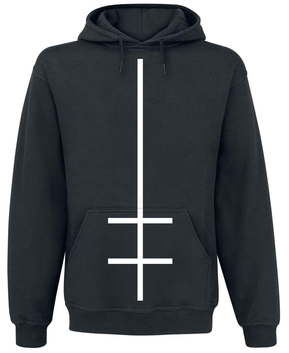 Zespoły - Bluzy z kapturem - Bluza z kapturem Marilyn Manson Double Cross Bluza z kapturem czarny - 367653