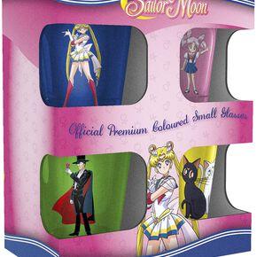 Sailor Moon Charaktere und Symbole Set verres à shots multicolore