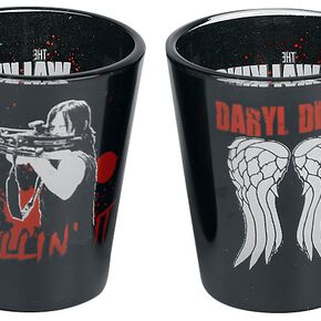 The Walking Dead Daryl Dixon Coloured Shot Glasses