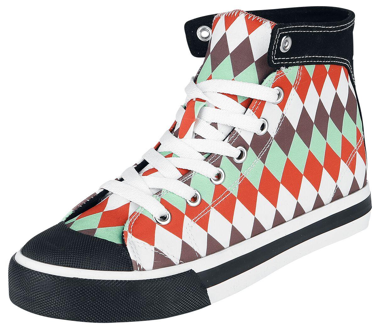 Sneakers für Frauen - Pussy Deluxe Sweet Diamonds Sneaker Sneaker multicolor  - Onlineshop EMP