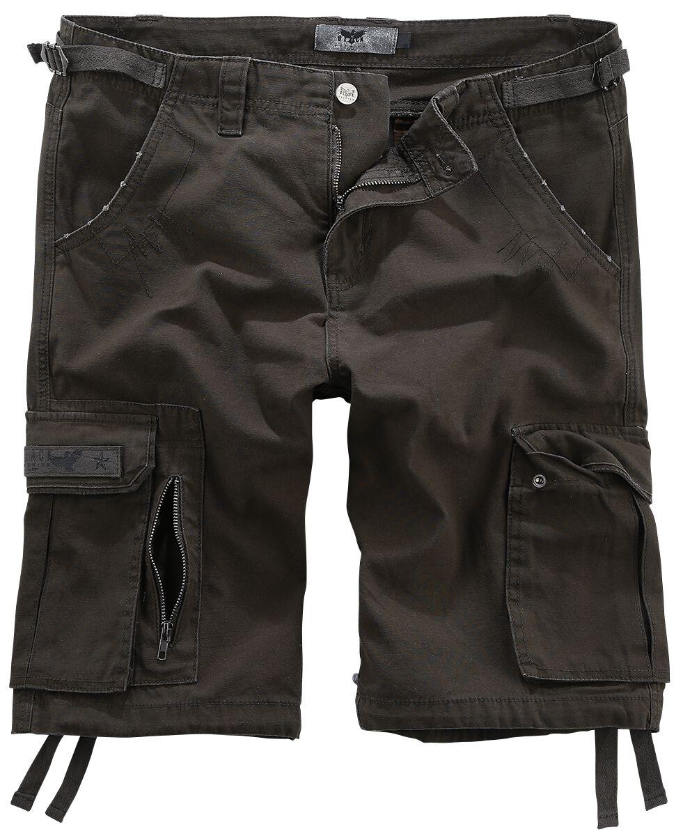 Image of   Black Premium by EMP Army Vintage Shorts Vintage shorts brun