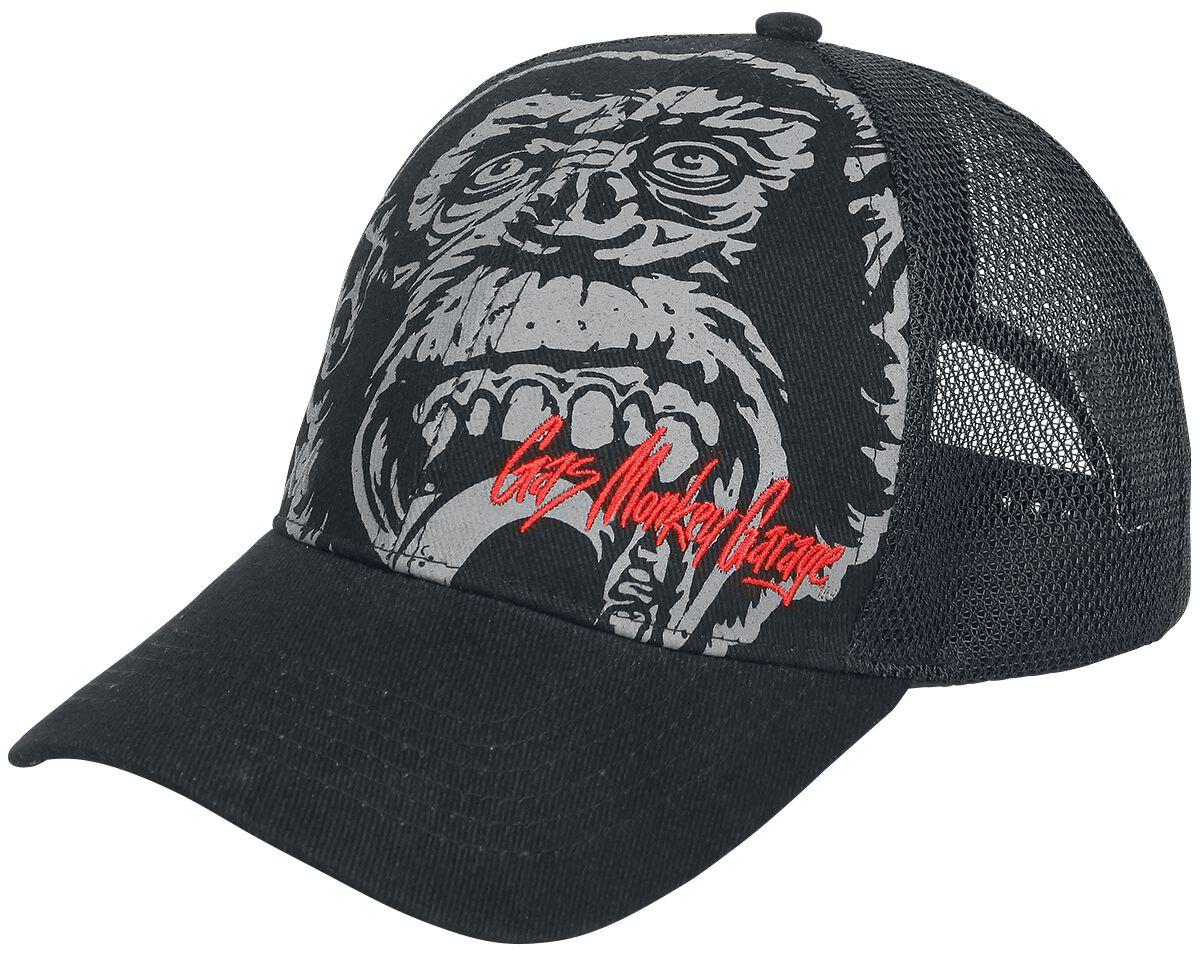 Merch dla Fanów - Czapki i Kapelusze - Czapka Trucker Cap Gas Monkey Garage Go Big Or Go Home Czapka Trucker Cap czarny - 367802