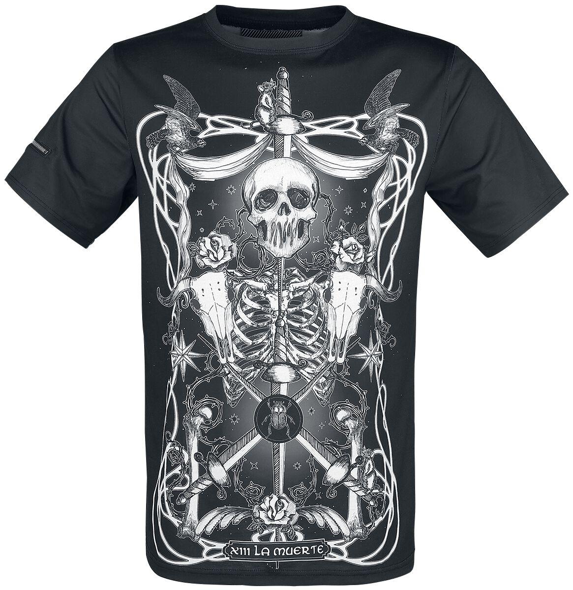 Marki - Koszulki - T-Shirt Jawbreaker Muerte Tarot T-Shirt czarny - 367919