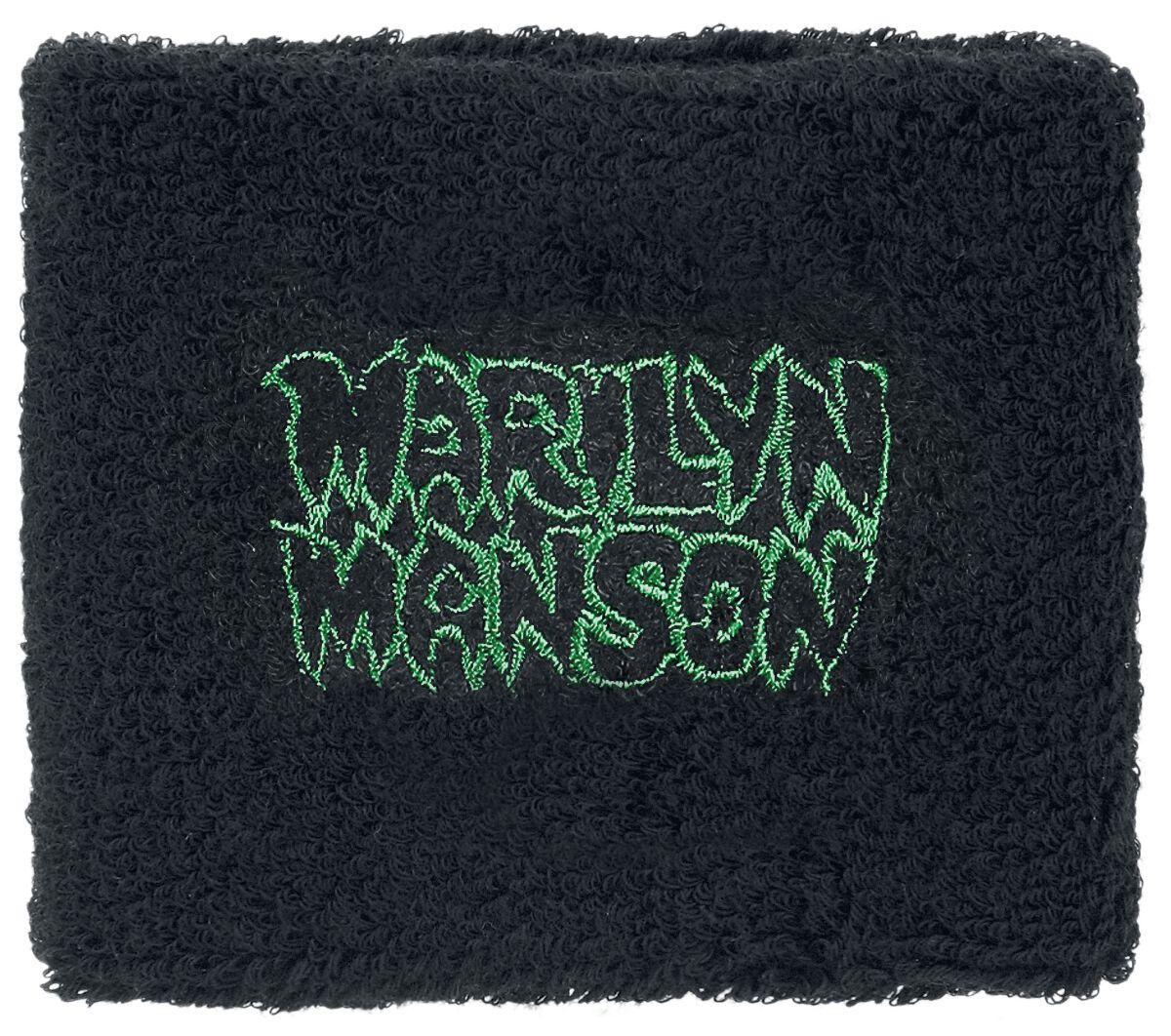 Zespoły - Frotki i Narękawniki - Frotka Marilyn Manson Logo Frotka wielokolorowy - 367965