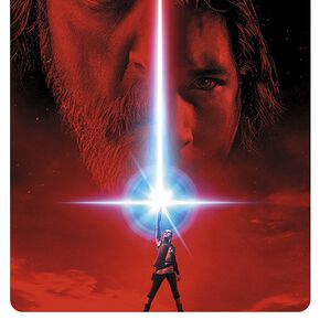 Star Wars Episode 8 - The Last Jedi - Teaser Poster multicolore