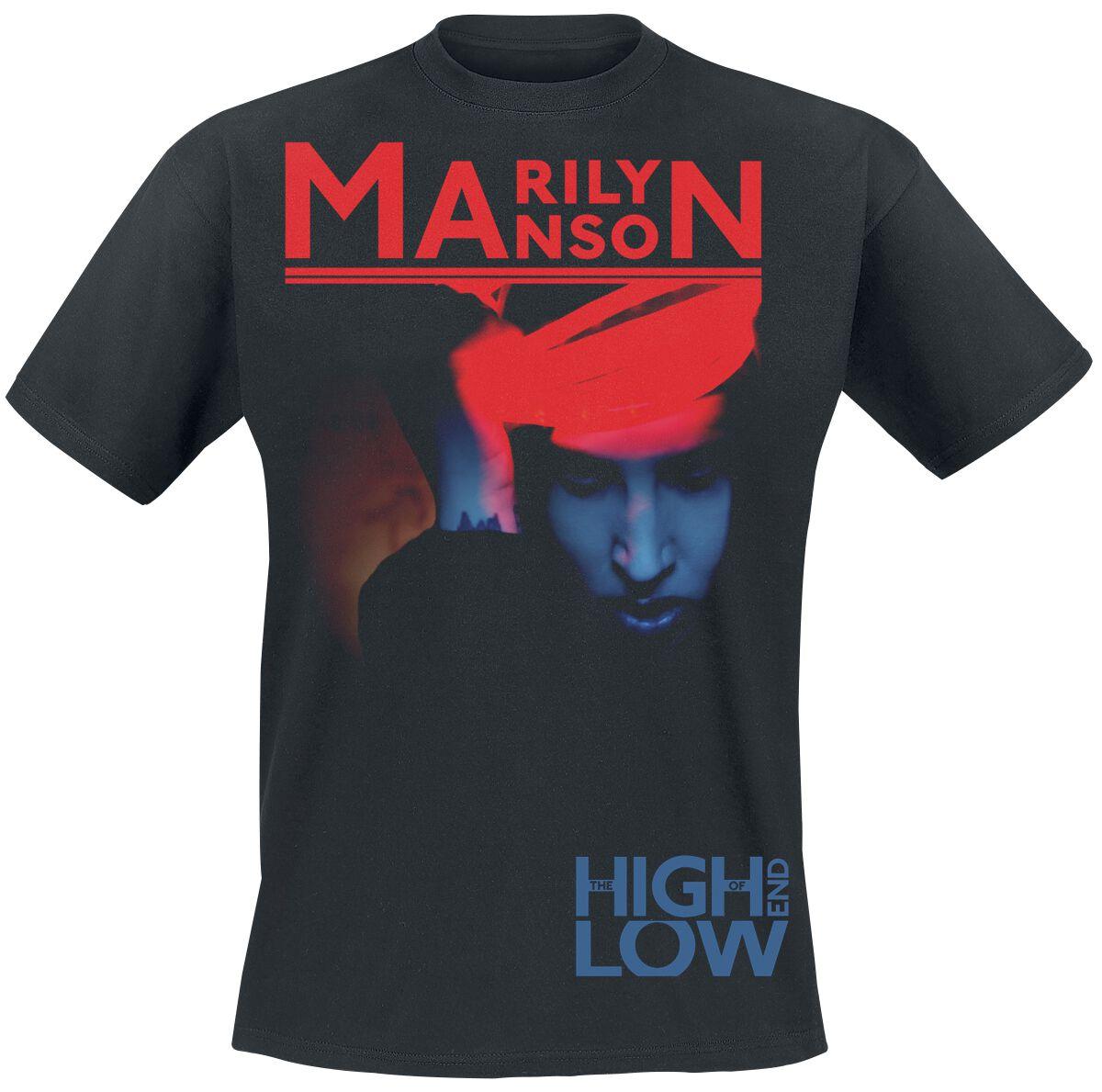 Zespoły - Koszulki - T-Shirt Marilyn Manson High End Of Low T-Shirt czarny - 368066