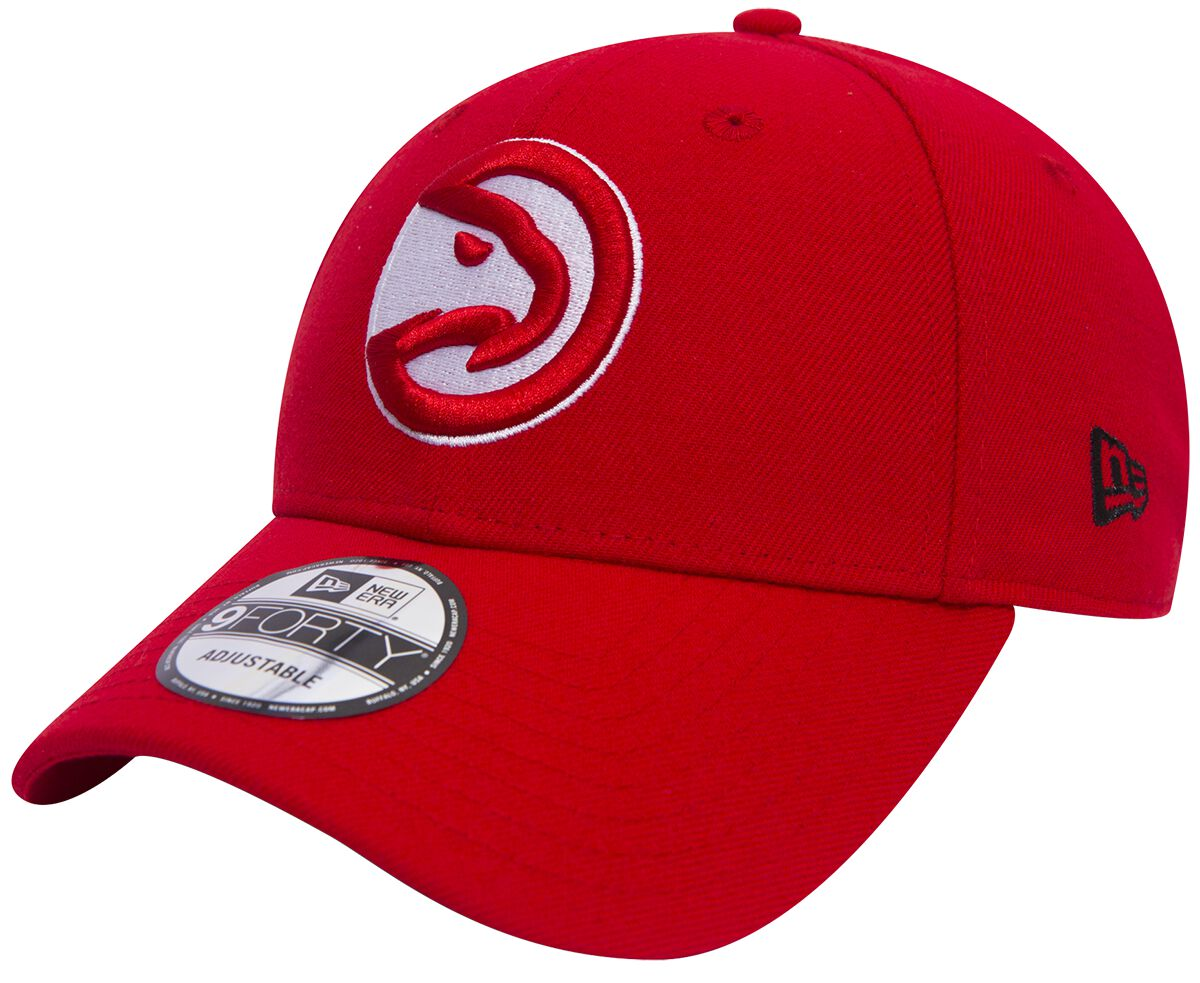Basics - Czapki i Kapelusze - Czapka New Era New Era 9Forty NBA Atlanta Hawks Czapka New Era czerwony - 368075