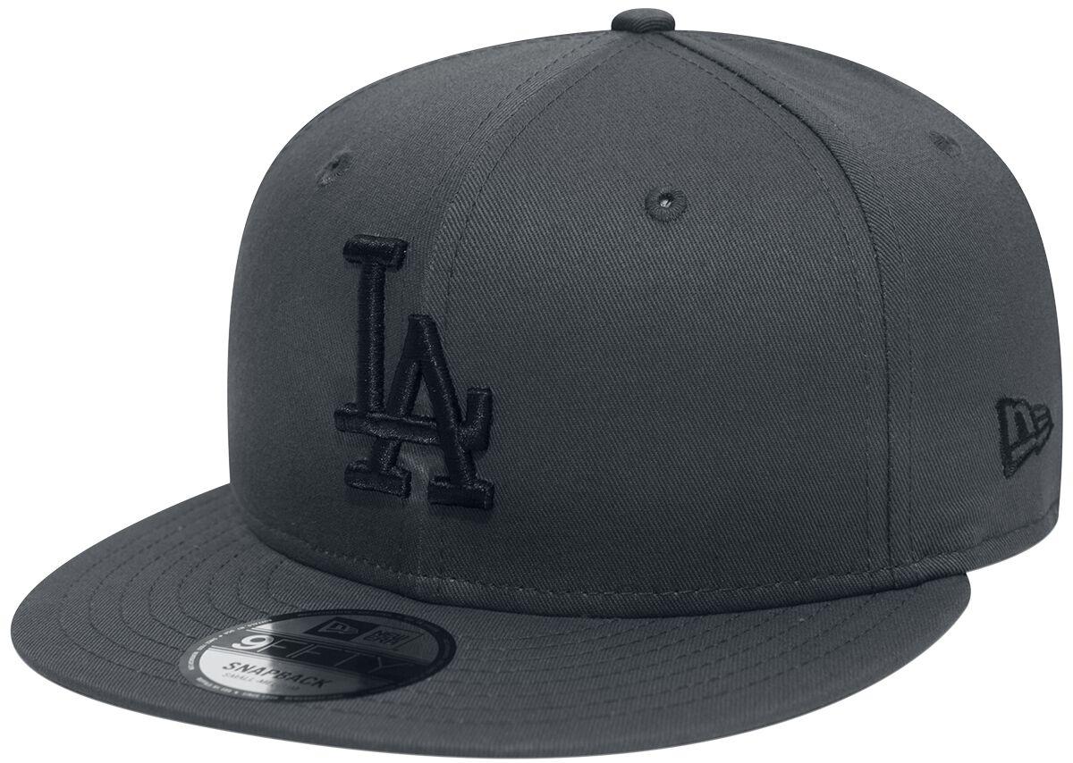 Basics - Czapki i Kapelusze - Czapka New Era New Era 9Fifty League Essential Los Angeles Dodgers Czapka New Era szary - 368096