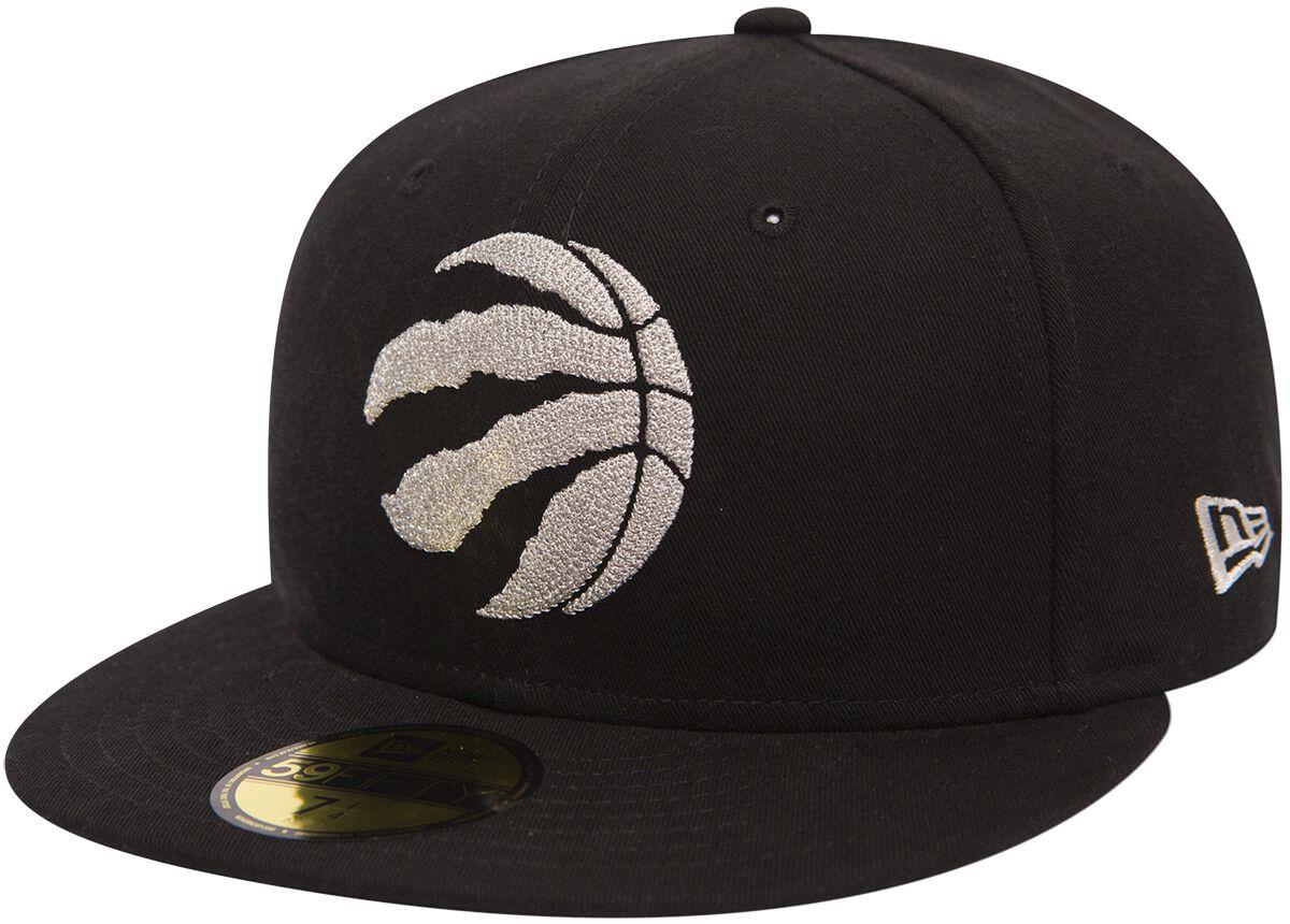 Basics - Czapki i Kapelusze - Czapka New Era New Era 59Fifty Chain Stitch NBA Toronto Raptors Czapka New Era czarny - 368098