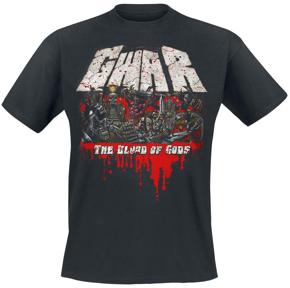 Zespoły - Koszulki - T-Shirt GWAR The blood of gods T-Shirt czarny - 368102
