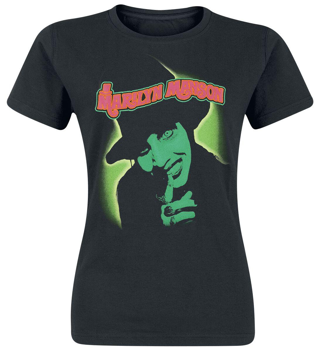 Zespoły - Koszulki - Koszulka damska Marilyn Manson Smells Like Children Koszulka damska czarny - 368103