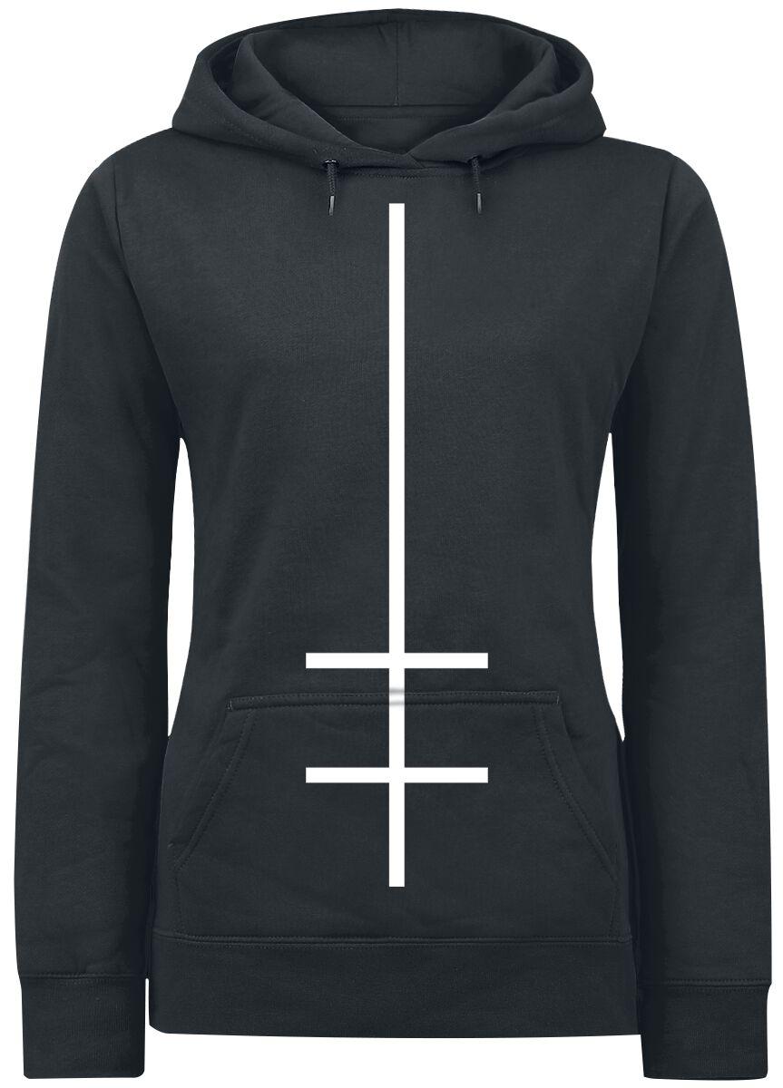 Zespoły - Bluzy z kapturem - Bluza z kapturem damska Marilyn Manson Double Cross Bluza z kapturem damska czarny - 368104