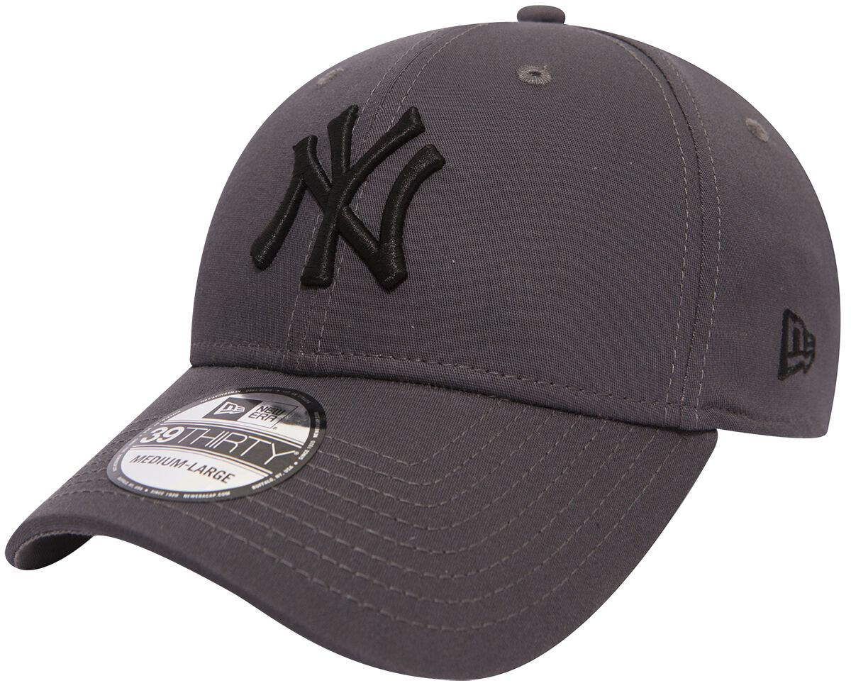 Basics - Czapki i Kapelusze - Czapka New Era New Era 39Thirty League Essential MLB New York Yankees Czapka New Era szary - 368117