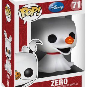 Figurine Pop! Chien Fantôme Zéro L'Étrange Noël de Monsieur Jack Disney