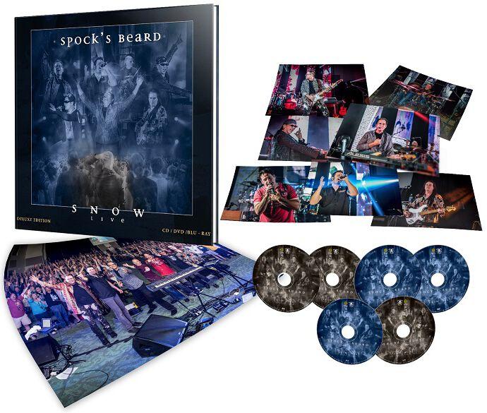Image of Spock's Beard Snow Live 2-CD & 2-DVD & 2-Blu-ray Standard
