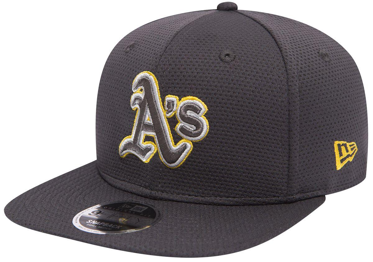 Basics - Czapki i Kapelusze - Czapka New Era New Era 9Fifty Tone Tech Redux MLB Oakland Athletics Czapka New Era szary - 368148