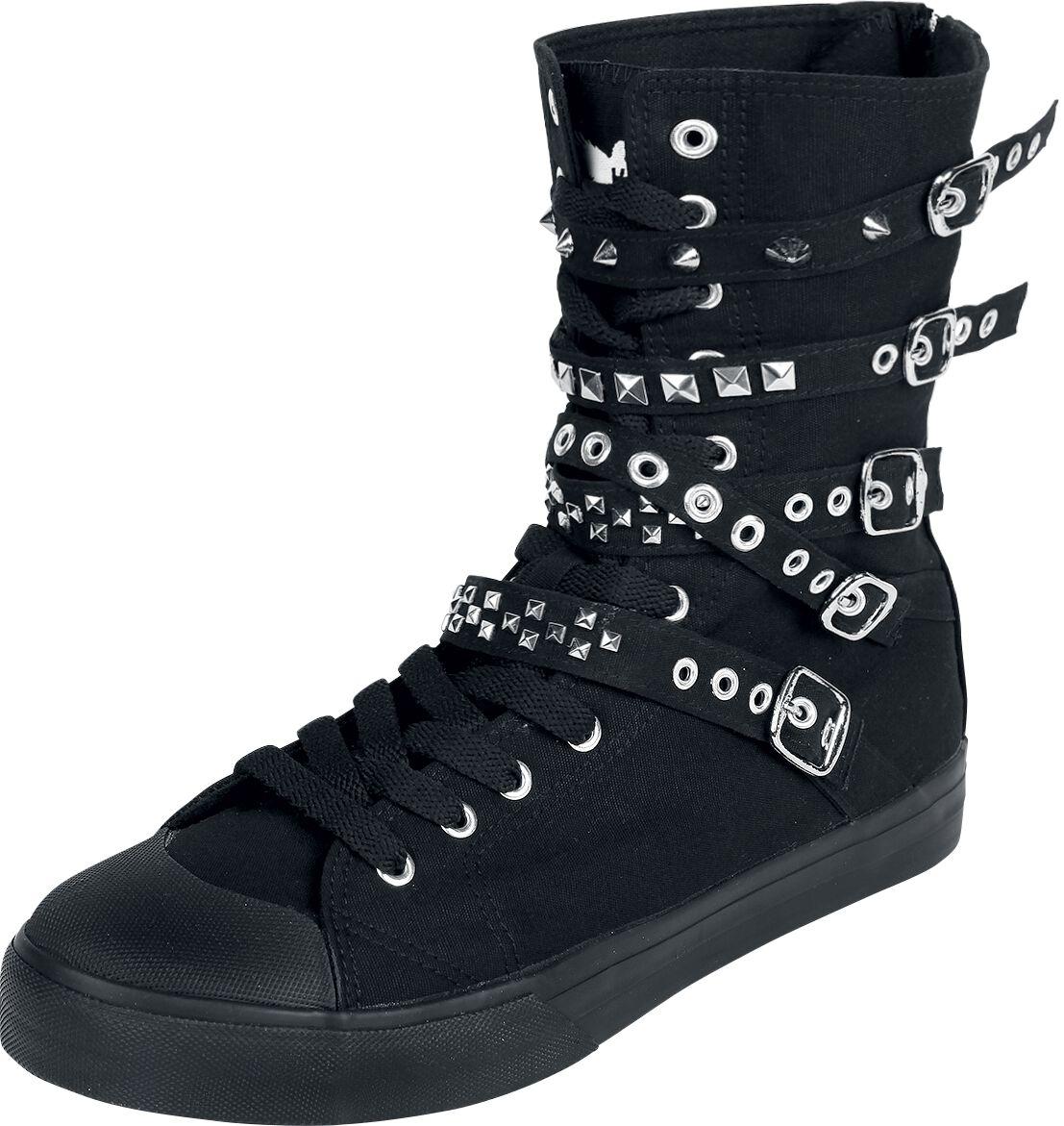 Image of   Black Premium by EMP Thunder Walk Sneakers sort