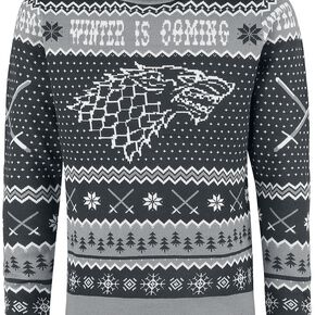 Game Of Thrones Winter Is Coming Pull gris