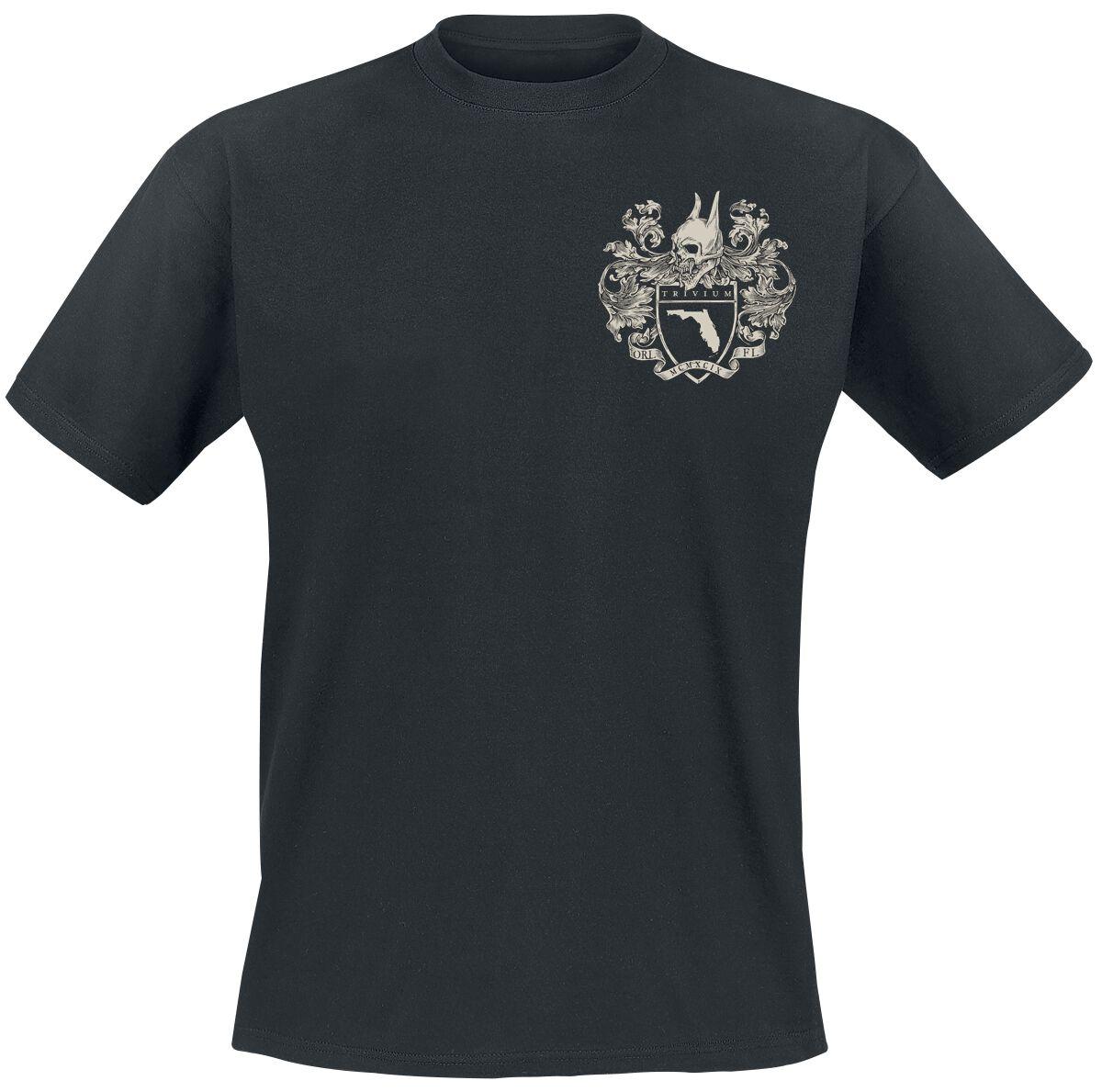 Zespoły - Koszulki - T-Shirt Trivium Oni Orlando T-Shirt czarny - 368195