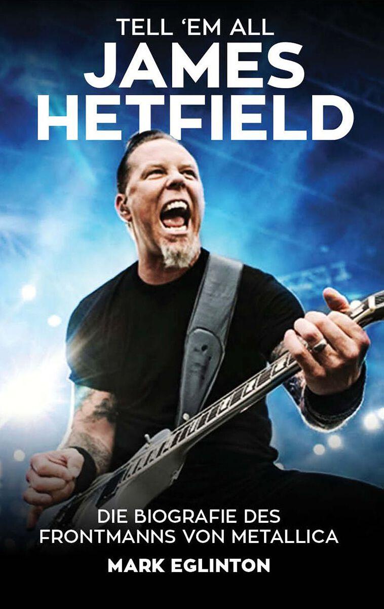 Metallica Tell ´em all - James Hetfield Taschen...