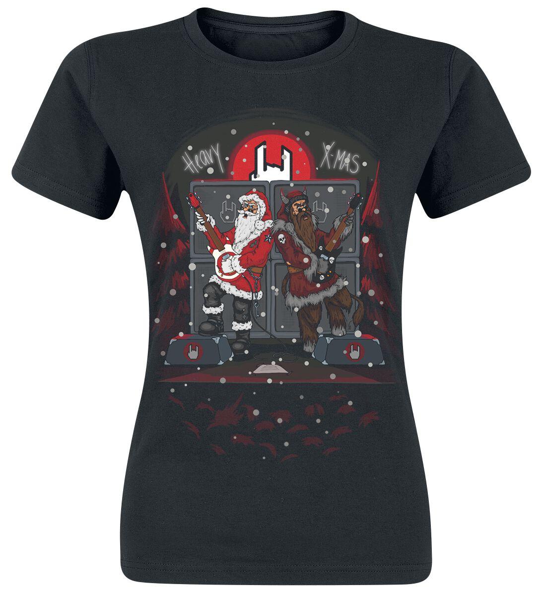 Fun Shirts - Koszulki - Koszulka damska EMP EMP Heavy X-Mas Koszulka damska czarny - 368224