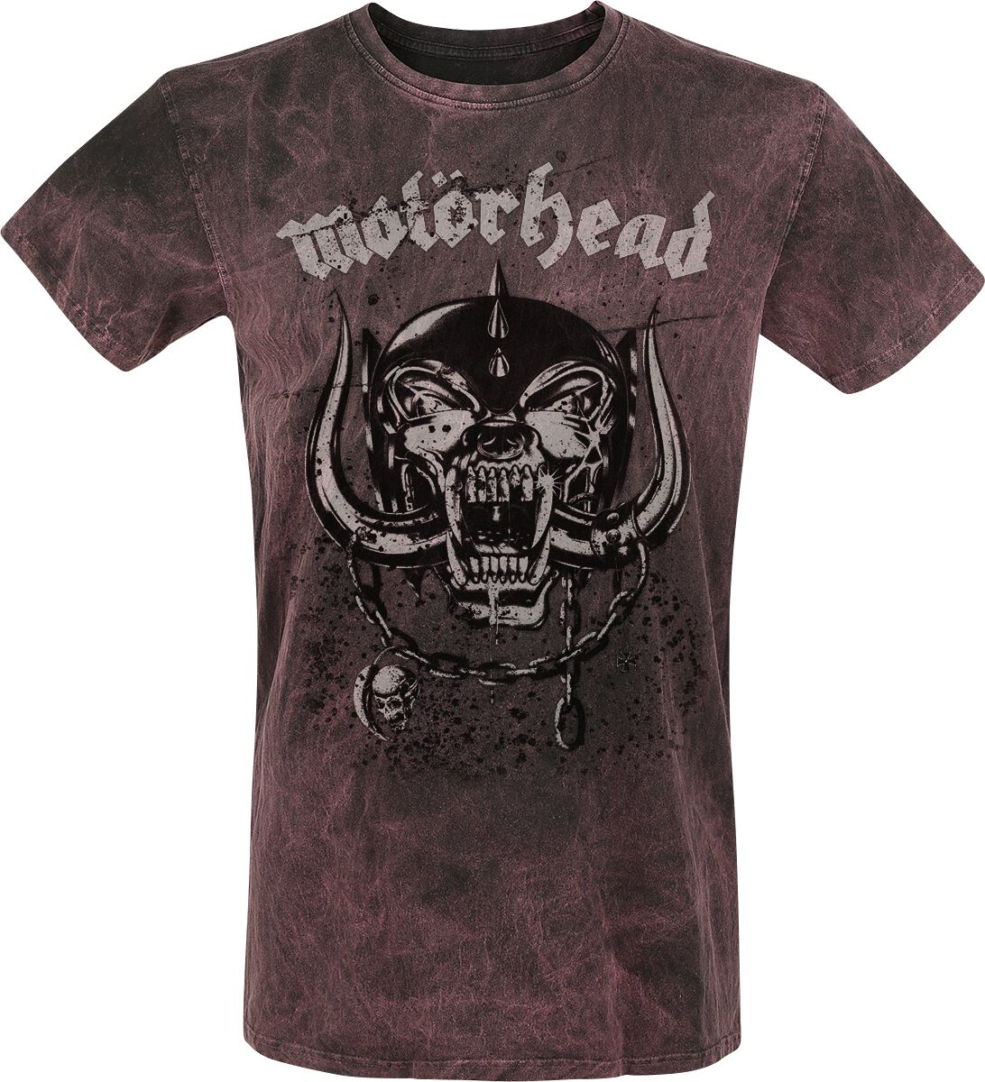 Image of   Motörhead Everything Louder T-Shirt grå-rød