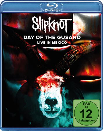 Image of   Slipknot Day of the Gusano Blu-ray standard